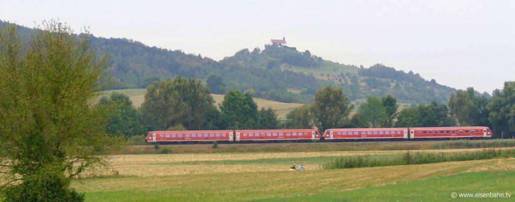 Der VT 611 zu Gast auf der Ammertalbahn