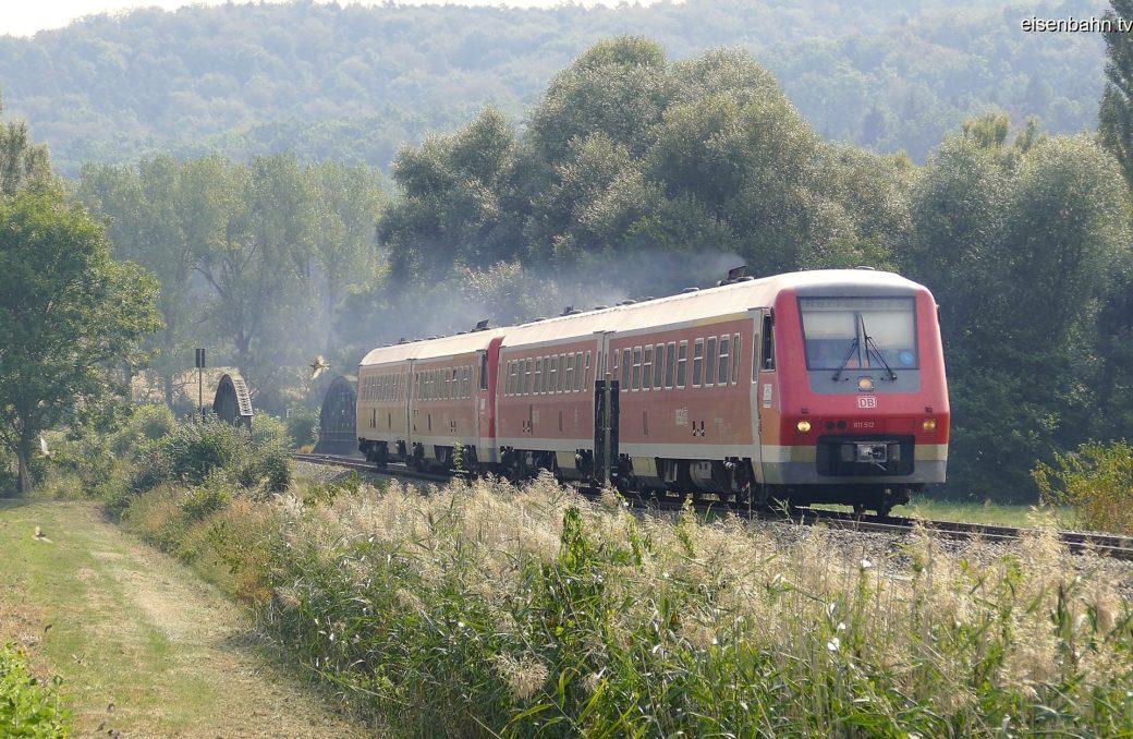 Der Vt611 zu Gast auf der Ammertalbahn