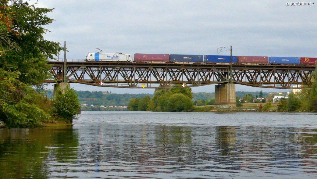 Mariorter Brücke - Eisenbahnbrücke Mariaort
