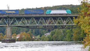 Mariaorter Brücke - Eisenbahnbrücke Mariaort
