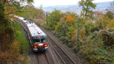 Abschied S-Bahn Stuttgart Baureihe ET420