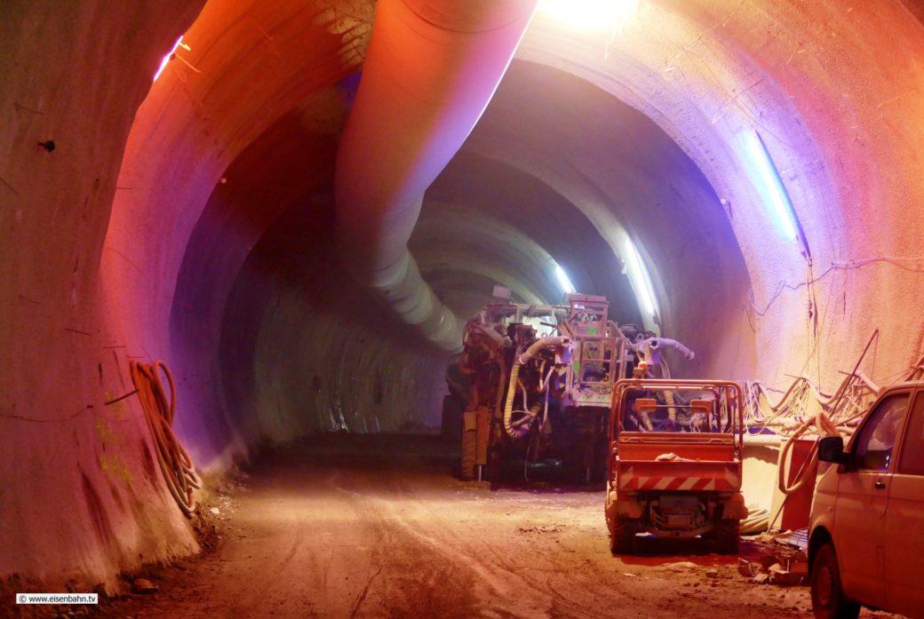 Tunnelbau im Anhydrit Canstatter Tunnel Stuttgart 21