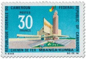 Der futuristische Bahnhof Kumba