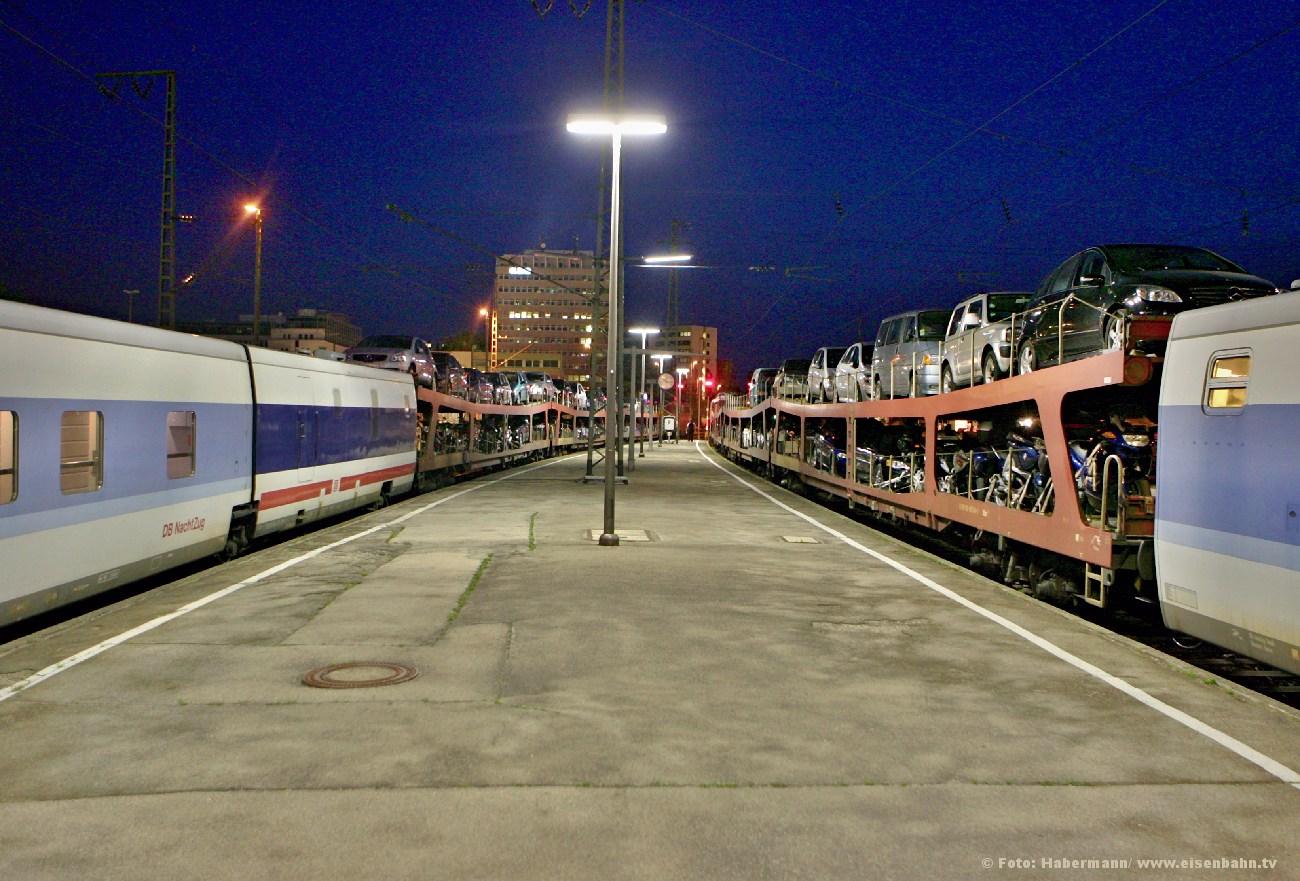Autozug Talgo München