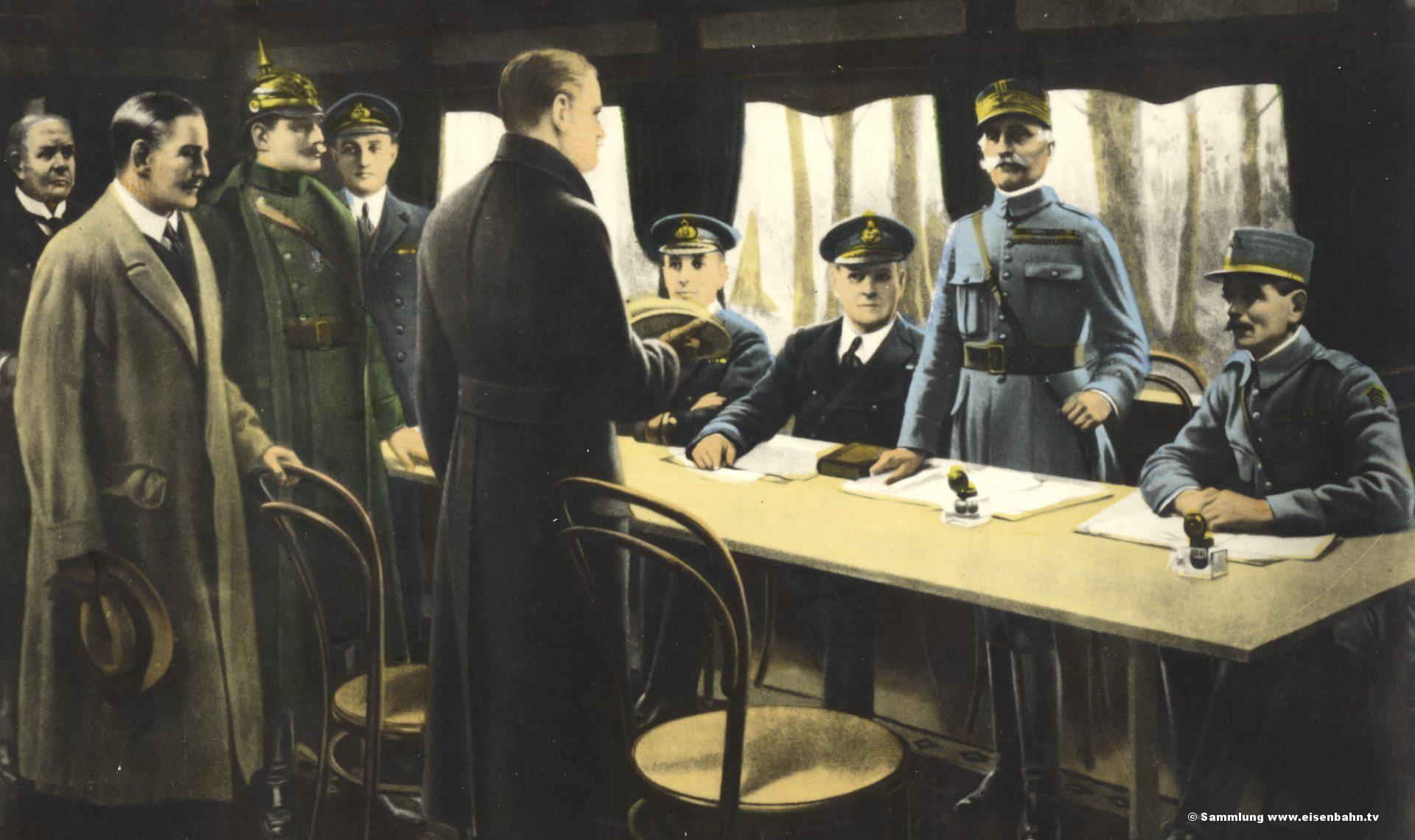 Compiegne - Waffenstillstand 1918 - 03