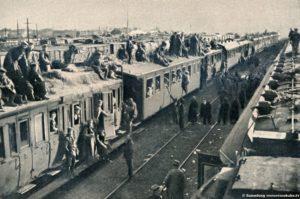 Von der Rückkkehr deutscher Truppen aus dem WEsten Foto: R. Sennecke Berlin